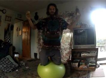 Most Eggs Juggled While Balancing On A Yoga Ball