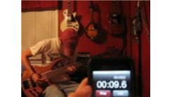 Fastest Time To Play Every Note On A Five-String Bass Guitar
