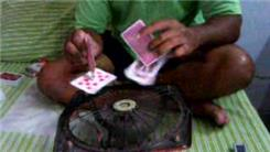 Longest Time To Spin Two Playing Cards On Playing Cards Using A Fan