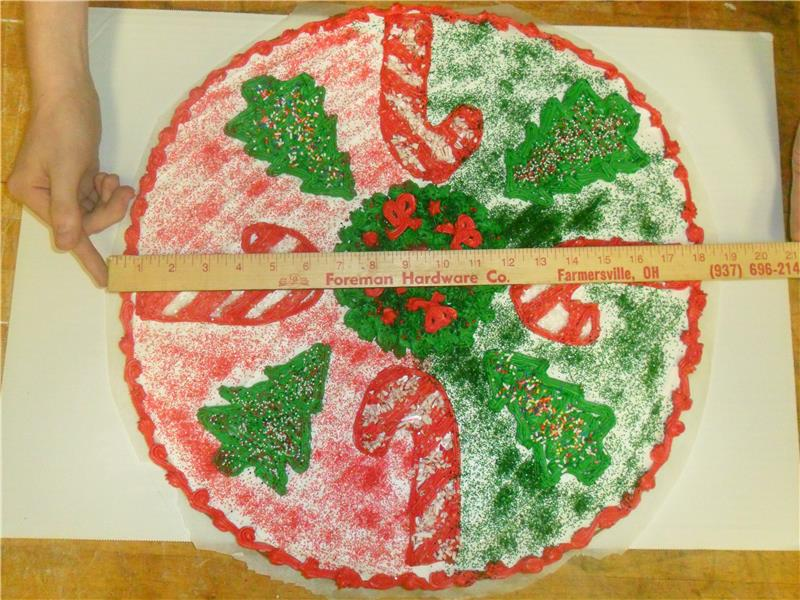 Largest Christmas Decorated Sugar Cookie