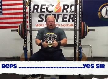 Most Reps Bench Pressing A 390-Pound Barbell (Athlete Under 235 Lbs.)