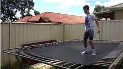 Most Back Flips On A Trampoline In One Minute