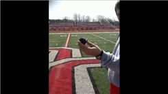 Farthest Distance To Throw A Stress Ball Into A Lacrosse Net