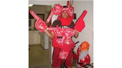 Most Foam Fingers Worn At Once