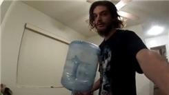 Most 360-Degree Spins In One Minute While Balancing A Five-Gallon Jug On One Finger