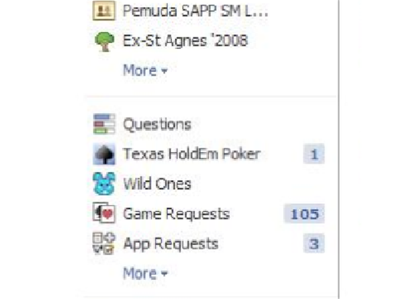 Most Game Requests In Facebook