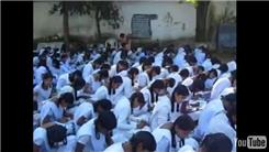 Largest Group Of Female Students Writing Essays