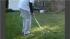 Farthest Distance To Chip A Baseball Into A Bucket Using A Golf Club