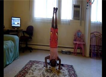 longest indoor headstand  world record  mridula shanker