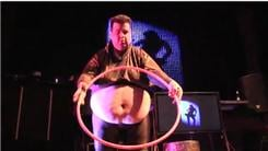 Heaviest Man To Fit Through A Hula Hoop