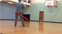 Longest Basketball Shot Made While Hula Hooping