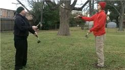 Most Synchronized Passes Between Two People Juggling Six Hatchets