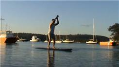 Most Kettlebell Swings On A Floating Paddleboard In 4.5 Minutes