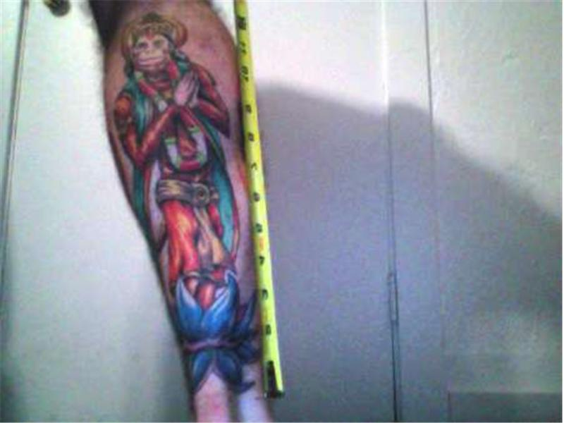 Longest Hanuman Tattoo