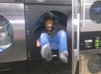 Most Laundromat Dryers Climbed Into In 30 Seconds