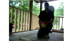 Most Left-Handed Shots Made Into A Little Tikes Basketball Hoop While Kneeling In One Minute