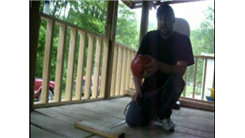 Most Left-Handed Behind-The-Back Shots Made On A Little Tikes Basketball Hoop In One Minute