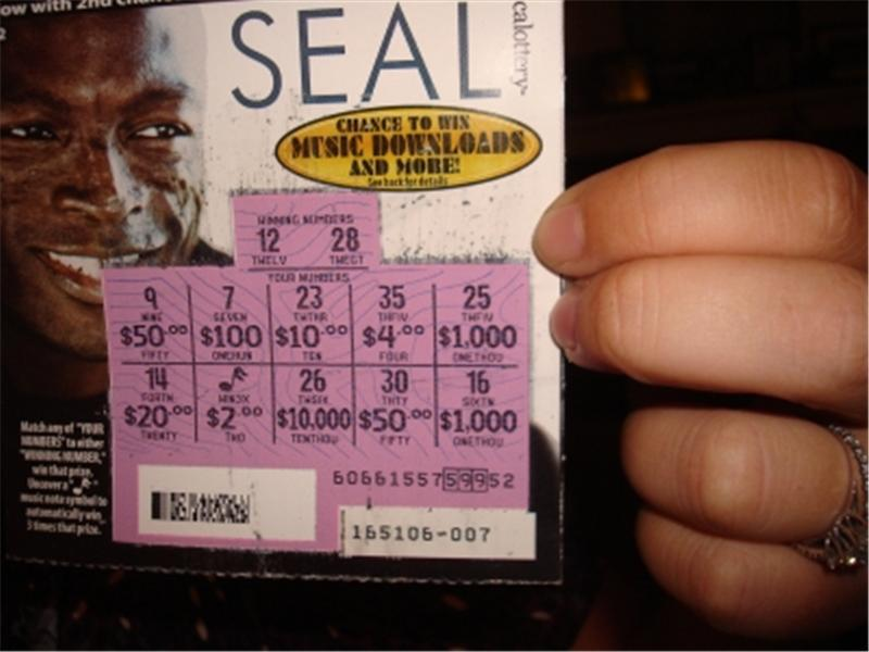 Most Money Won On A Scratch Off Lottery Ticket