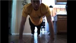 Fastest Time To Complete 10 Knuckle Push-Ups And 10 Catches Juggling Three Balls