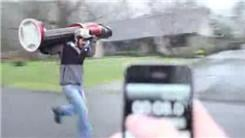 Fastest 40-Yard Dash While Carrying A 57-Pound Nutcracker