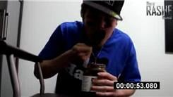 Fastest Time To Eat A Jar Of Nutella