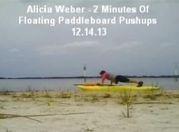 Most Push-Ups On A Floating Paddleboard In Two Minutes