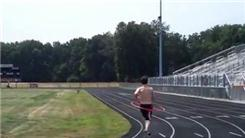 Fastest 400-Meter Dash While Hula Hooping
