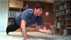 Longest One-Armed Plank While Juggling Two Balls