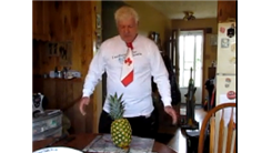 Fastest Time To Peel, Slice And Prepare A Whole Pineapple