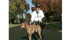 Fastest 1/4 Mile Rollerskate Sprint With Dog By A Person Over 60