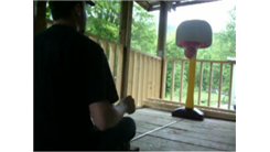 Most Right-Handed Shots Made Into A Little Tikes Basketball Hoop In One Minute