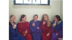 Most People Wearing Snuggies And Sipping Margaritas In A Bathtub