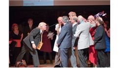 Largest Group Of Nobel Laureates To Remove A Sword From Someone's Throat