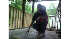 Most Right-Handed Behind-The-Back Shots Made Into A Little Tikes Basketball Hoop While Kneeling In One Minute