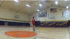 Longest Basketball Shot Made While Riding A Unicycle