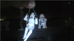 Longest Unwinding Spin On A Swing With A Stormtrooper Toy