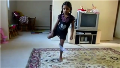 Longest Hula Hoop Rotation On One Leg By A Seven-Year Old