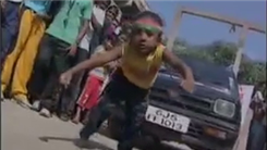 Longest Distance For A Four-Year-Old To Pull A Car Using Hair