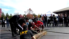 Most 50-Foot Truck Pulls In One Hour While Seated