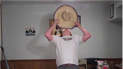 Longest Time Balancing Sombrero On Chin