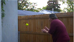 Most Catches Of A Tennis Ball Bounced Off A Wall In One Minute
