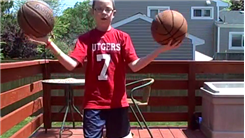 Longest Time For A 9-Year-Old To Hold One Basketball In Each Hand
