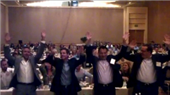 "Largest Group To Do ""The Wave"" In A Hotel Ballroom"