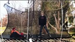 Longest Time For Two People To Play On A Trampoline While Wearing Roller Skates