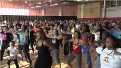 Largest Zumba Class In New York City